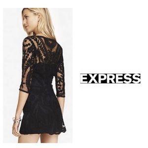 EXPRESS Sexy Lace Mini Dress Size S